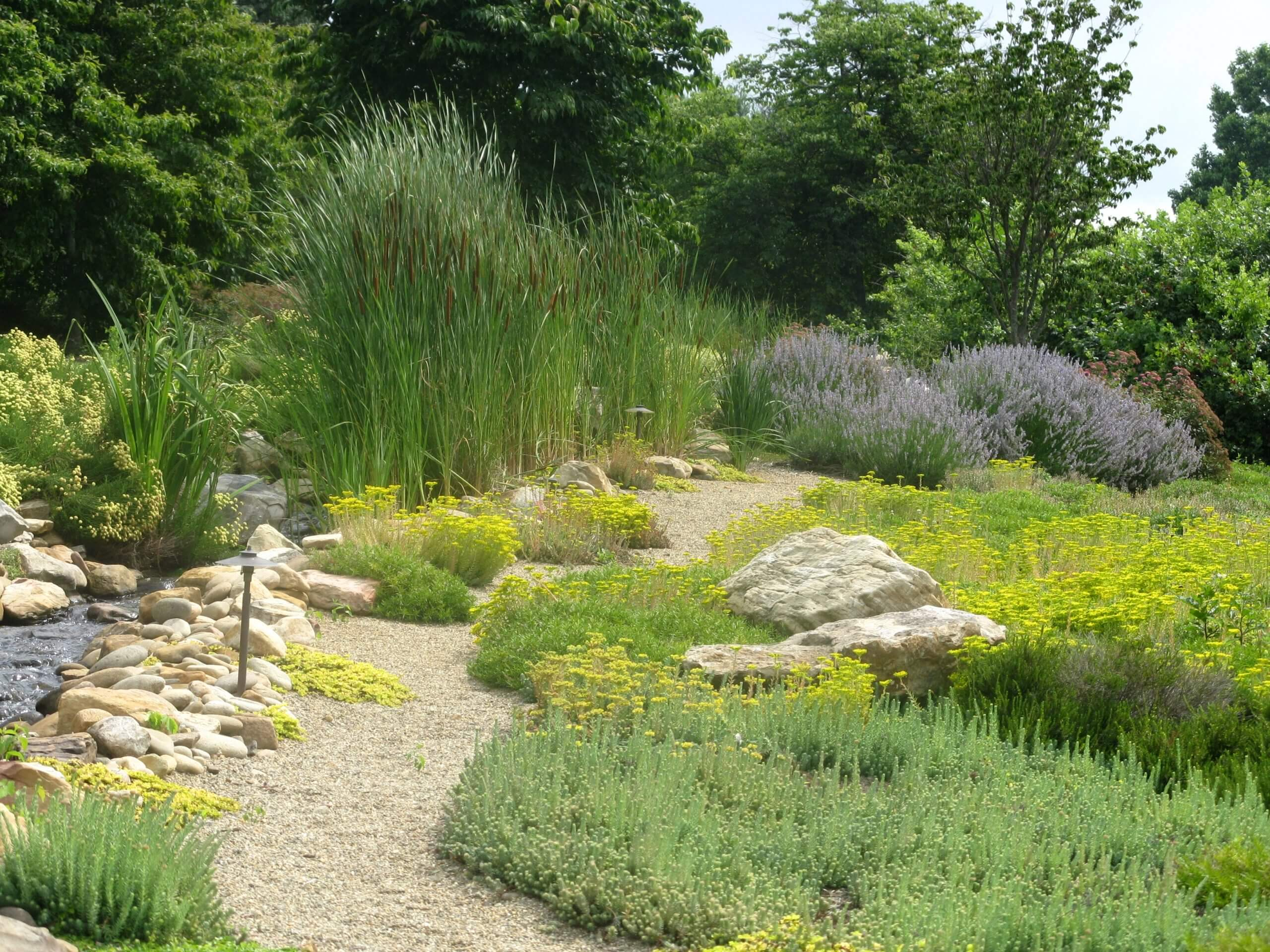 Country garden landscape pathway for Country garden designs landscaping