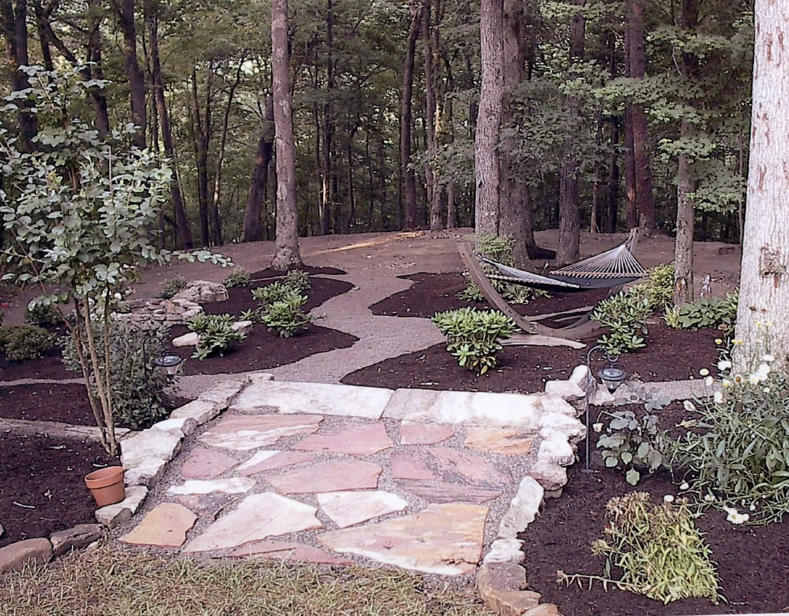 Woodland garden landscaping for Woodland landscape design