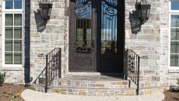 Custom Belgard Paver entry