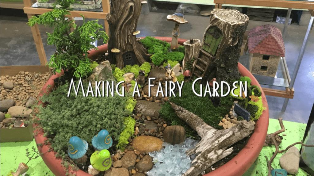 How To Make A Woodland Fairy Garden Willow Ridge Knoxville Oak Ridge