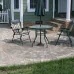 Paver Patio with Circle Kit in Oak Ridge TN