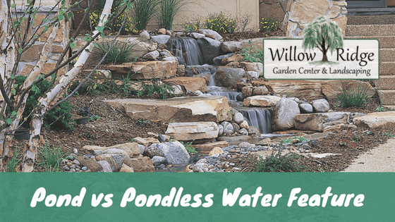 Pond vs pondless the pros and cons willow ridge for Waterfall design pros and cons
