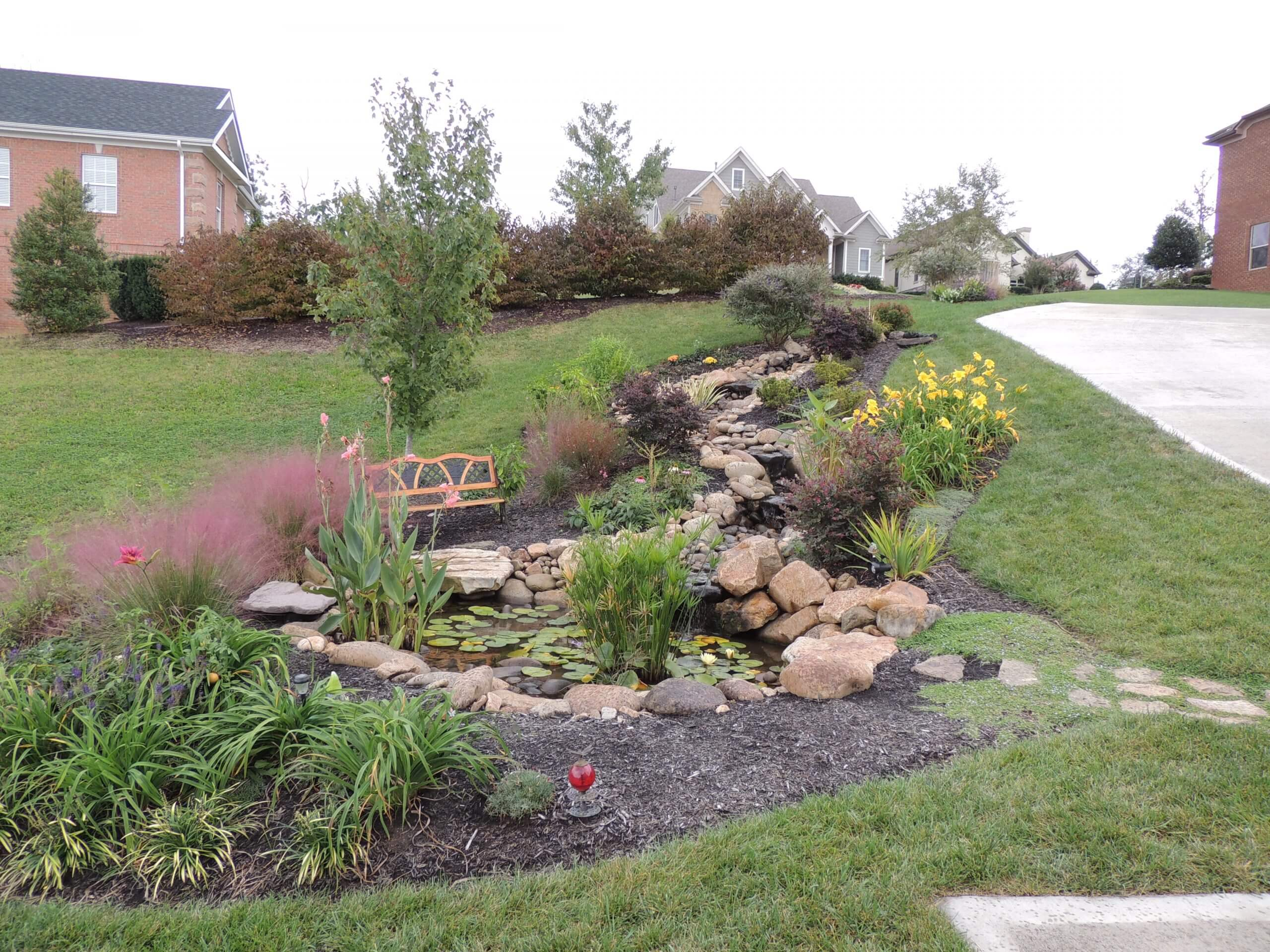 Eco-system Pond & Landscaping in West Knoxville Tennessee