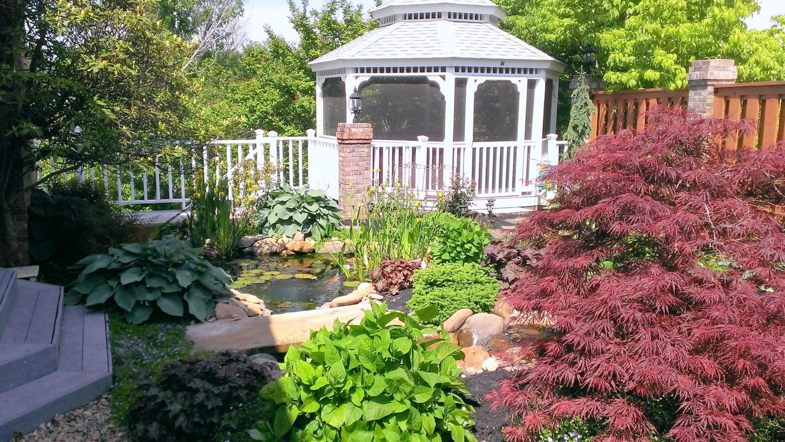 Landscape & Pond Installation in the Powell Area of North Knoxville