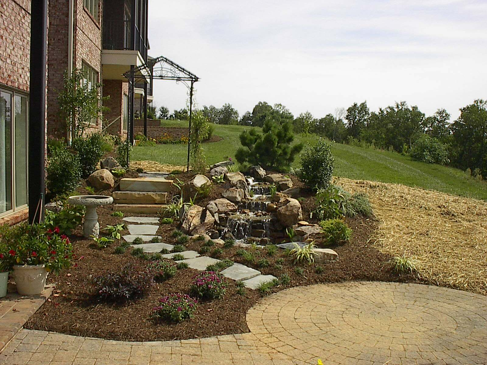 Back Yard Landscape Design Knoxville TN