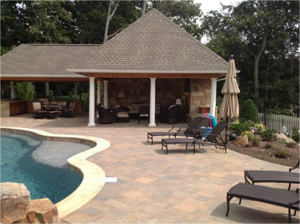 Pool Surround & Outdoor Kitchen