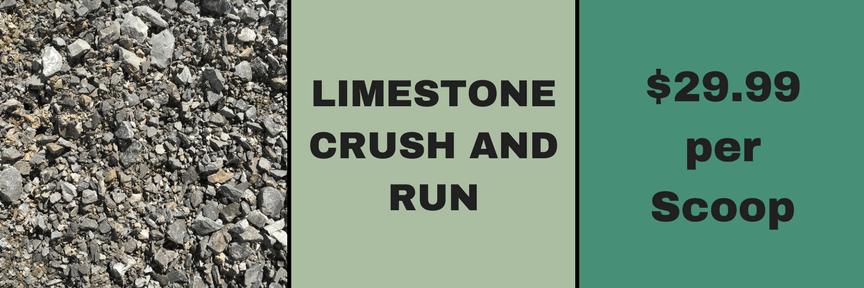 Limestone CrushNRun