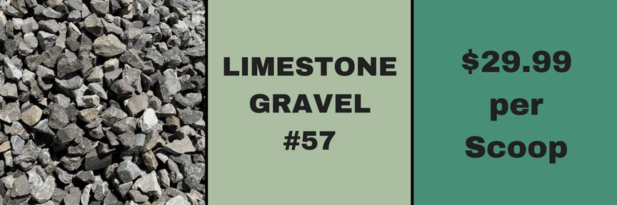 Limestone Gravel #57