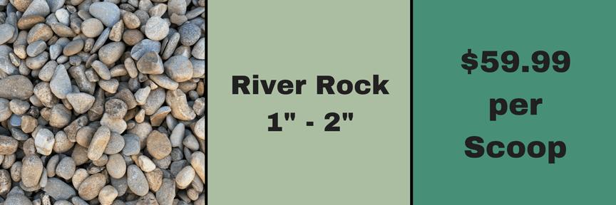"""1""""-2"""" River Gravel"""