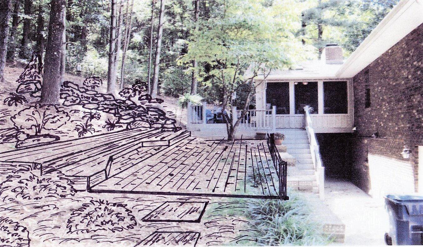 Design Sketch $150 Willow Ridge