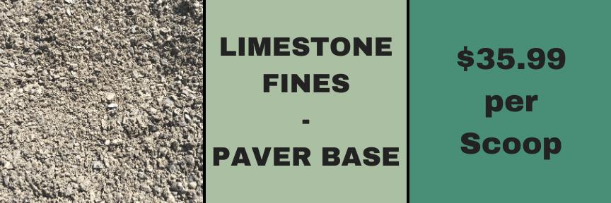 Limestone Paver Base
