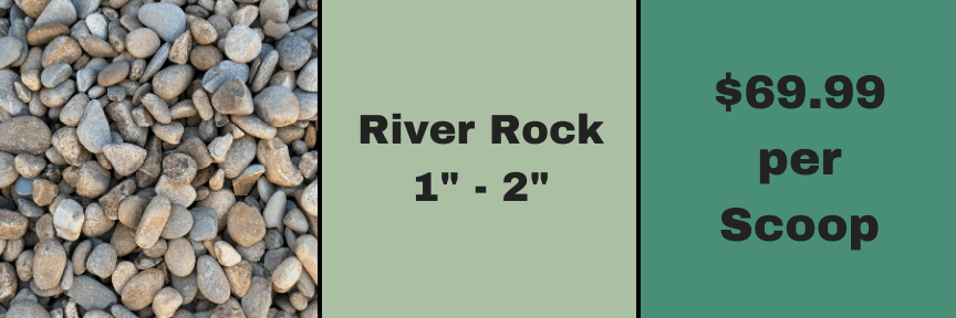 "1""2"" River Rock"