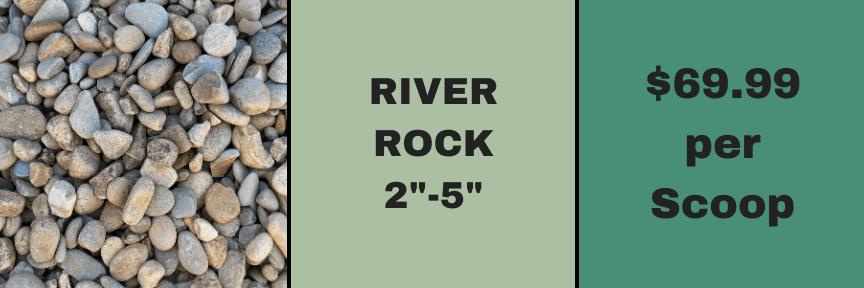"2""-5"" River Rock"